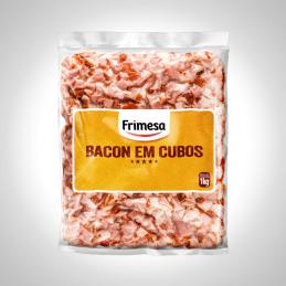 Bacon em Cubo Congelado...